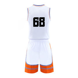 Durable Basketball Sports Clothes Sublimation Basketball Jersey For Training